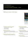 ControlMaster Universal Controllers - CM50 Data Sheet