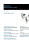 WaterMaster Electromagnetic Flowmeter Data Sheet