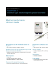 AquaProbe 2 - Insertion-Type Electromagnetic Probe Flowmeter Data Sheet
