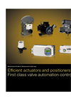 Efficient Actuators and Positioners - Measurement Products - Brochure