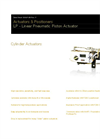 ABB - Model LP - Linear Pneumatic Actuators - Datasheet