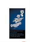 ABB CoriolisMaster - Model FCB430 and FCB450 - Coriolis Mass Flowmeter - Brochure