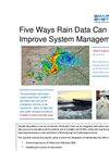 Five Ways Integrating Rain Data Can Improve System Management  Brochure