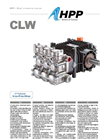 HPP - Model CLW - Triplex Pumps - Brochure