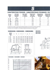 Model MIS - Secondary Impact Crusher Technical Datasheet