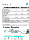 BAISCREEN - Mobile Recycling Unit Technical Datasheet