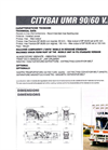 CITYBAI UMR 90/60 - Mobile Unit Technical Datasheet