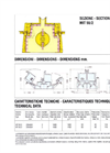 Model MIT - Reversible Tertiary Impact Crusher Technical Datasheet