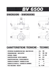 Model BV 6500 - Vertical Axis Mill Technical Datasheet