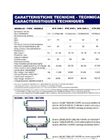 Model GTB/MTB - Bar Crusher or Mill Technical Datasheet