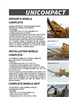 UniCompact - Complete Crushing Plant on wheels