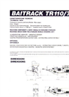 BAITRACK TR110/70V Crawler-Mounted Mobile Unit - Technical Sheet