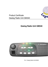 Logotronic - GM340 - Gealog Radio Unit Brochure