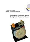 Logotronic - Gealog Transformer Modules Brochure