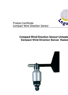 Logotronic - Compact Wind Direction Sensor Brochure