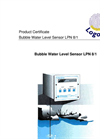 Logotronic - LPN8/1 - Bubble Water Level Sensor Brochure