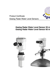 Logotronic - 60 m - Gealog Radar Water Level Sensor Brochure