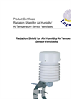 Logotronic - Gealog Radiation Shield for Air Humidity/AirTemperature Sensor Ventilated Brochure