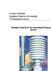 Radiation Shield for Air Humidity/AirTemperature Sensor Brochure