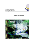 GealogNet - Gealog for Windows Software Brochure