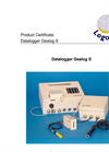 Logotronic - S - Datalogger Gealog and Remote Sensor Station Brochure