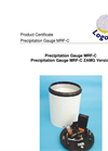 Logotronic - MRF-C - High-Grade Precipitation Gauge Brochure