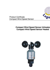 Logotronic - Compact Wind Speed Sensor Brochure