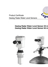 Logotronic - Gealog Radar Water Level Sensors Brochure