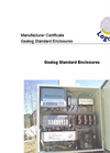 Gealog Standard Enclosures Brochure