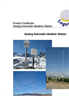 Gealog Automatic Weather Stations Brochure