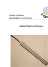 Logotronic - Gealog Water Level Sensors Brochure