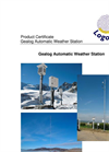 Logotronic - AWS - Gealog Automatic Weather Stations Brochure