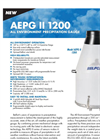 Model AEPG 600/1000 - Weather Precipitation Gauge Brochure