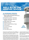 AIO - Model 2 - All in One Weather Sensor Brochure