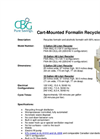 Cart-Mounted Formalin Recycler Brochure