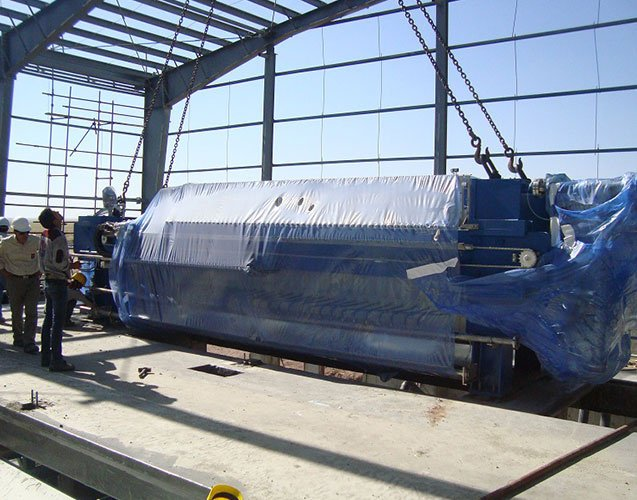 Filter Press and Slurry Dewatering System-3