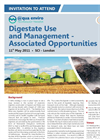 Brochure:  Digestate Use and Management – Associated Opportunities