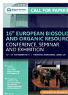 16th Biosolids - Call For Papers.cdr