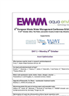 6th European Waste Water Management Conference & Exhibition 2012 – Draft Programme