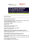 17th European Biosolids & Organic Resources Conference, Seminar & Exhibition 2012 – Conference Programme