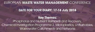 12th European Waste Water Management (EWWM) Conference & Exhibition