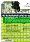 Carbon Management and Carbon Footprints workshop flyer- Brochure