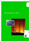 The Green Deal FAQs- Brochure