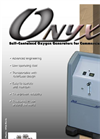AirSep - Model Onyx Plus (17 SCFH) - Self-Contained Oxygen Generators Datasheet
