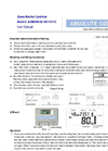 Absolute Ozone - Model AOM2000 - O3 Ozone Gas Monitor/Controller Manual
