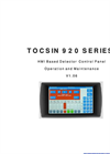 Tocsin - Model 920 Series - Addressable Control Panel - Manual