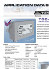 Oliver IGD - Model TOC-31A Series - Flammable Gas Detector - Datasheet