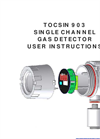 Oliver IGD - Model Tocsin 903 Series - Single Channel Gas Detector - Manual