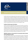 CuraFlos Commitment to Quality - Brochure