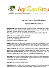 AgriZan Mycor – Fact Sheet